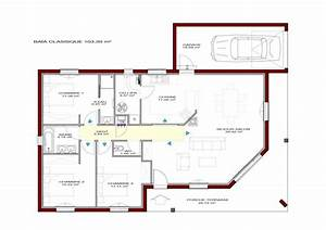 Plan Maison U : maison baia classique igc construction ~ Dallasstarsshop.com Idées de Décoration