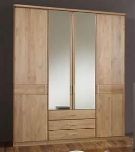 Hosenhalter Für Kleiderschrank : kleiderschrank mit holz und spiegelt ren und schubladen sanando ~ Orissabook.com Haus und Dekorationen