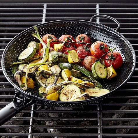 high heat nonstick steel barbecue frying pan williams sonoma au