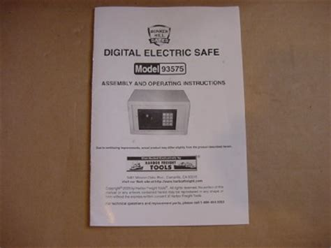 bunker hill digital floor safe password reset digital electric safe model 93575 by bunker hill safes ebay