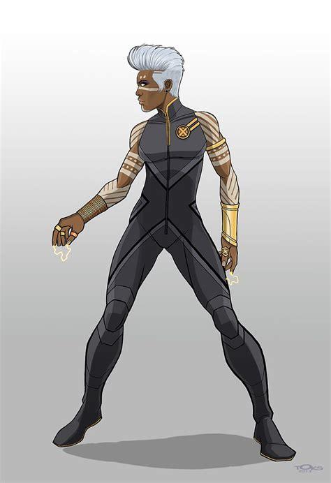 storm redesign  toks solarin super hero costumes