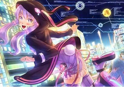 Vocaloid Yukari Yuzuki Purple Hair Bunny Fanart