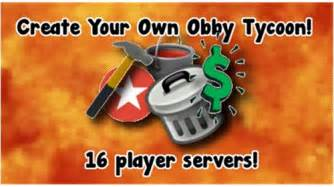 create   obby tycoon  roblox