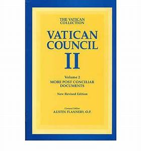 Vatican council ii more post conciliar documents v 2 for Post conciliar documents vatican ii