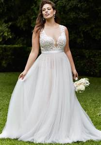 plus size vintage wedding dresses prettiest 8 plus size summer wedding dresses