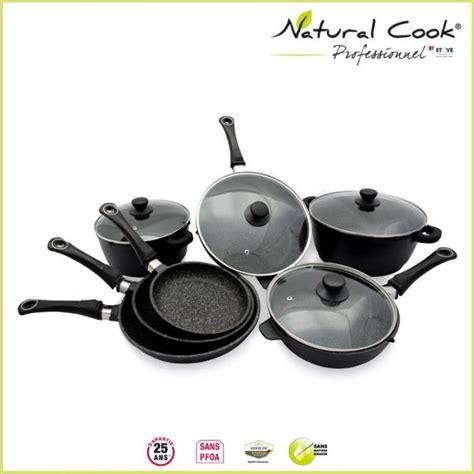 batterie de cuisine induction tefal batterie 7 pièces en cook by stove achat vente batterie de cuisine batterie 7