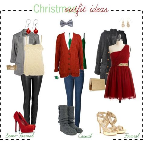 christmas calendar ideas for dress attire quot ideas quot by tipsbyagirl on polyvore holidays