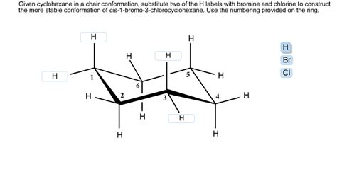 Chair Conformations In Equilibrium by Chemistry Archive October 03 2013 Chegg
