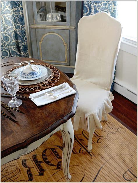 Custom Dining Room Chair Slipcovers Chairs Home