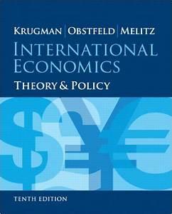 Solution Manual For International Economics 10th Edition
