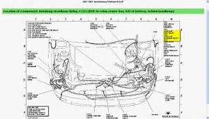 Diagram In Pictures Database  2003 Ford Taurus Headlight