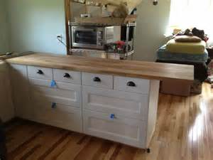 butcher block kitchen island ikea kitchen island countertop ikea nazarm