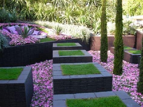 Garten Böschung Gestalten by Garten Gestalten Architektonische Formen Wege Im Garten