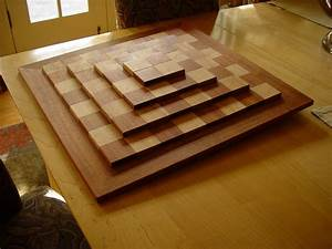 3D Chess Board - FineWoodworking