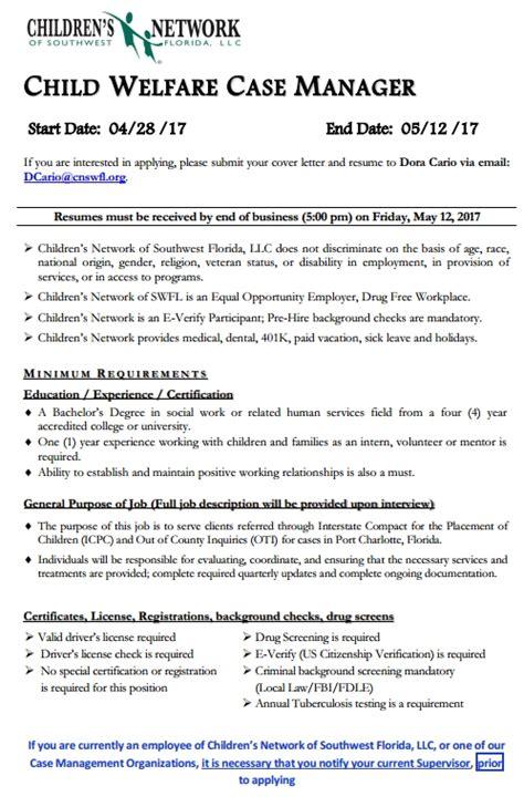 fgcu cover letter fgcu graduate programs in counseling position child