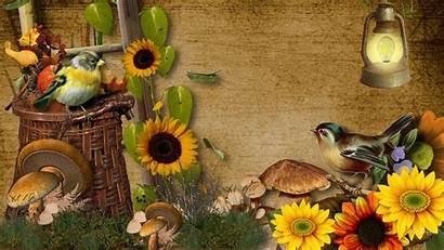 Harvest Fall Wallpapers Beginning Desktop Norman Rockwell