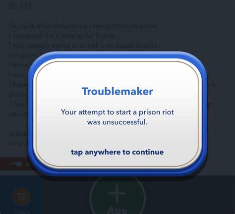 bitlife guide game deployment riot prison mini