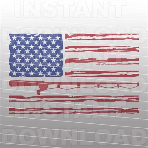 Get instant access to a free month of design products join now. Patriotic Flag Fisherman SVG FileUSA Flag svgFishing