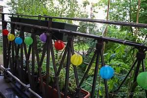 eintrage in der kategorie garten balkon jule julsen With garten planen mit bunte lichterkette balkon
