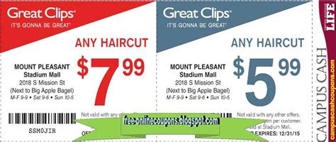 coupon great clips