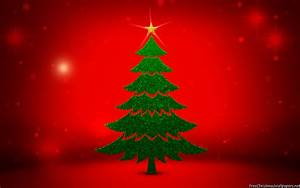 Christmas Tree Background - PowerPoint Backgrounds for ...