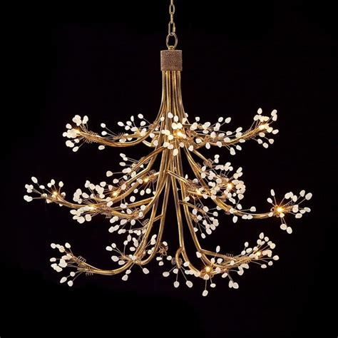 branch chandelier gilded branch and berry chandelier chandeliers by