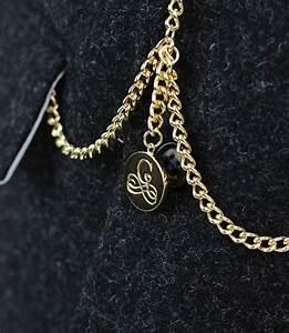 Gold Double Albert T-Bar Pocket Watch Chain | Garrison Tailors