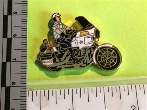Police Motorcycle Pin