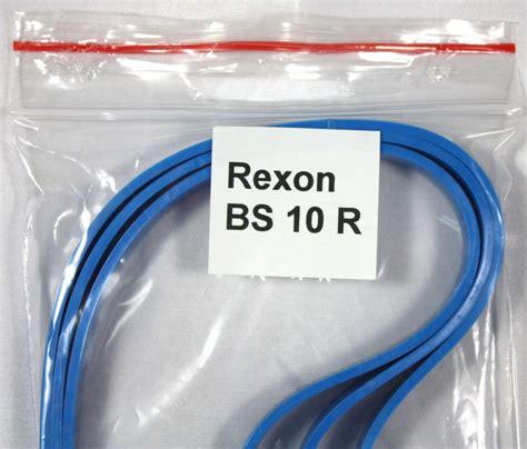 Bandage  Belagband Für Die Bandsägenmaschine Rexon Bs 10