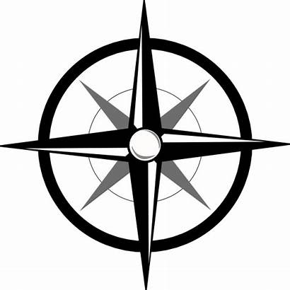 Compass Rose Svg Vector Clip Drawing Open