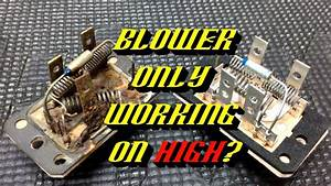 Ford Quick Tips  68  Blower Motor Resistor Failures- Testing And Inspection