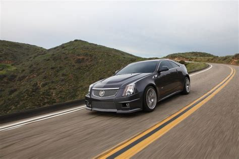 2014 Cadillac Cts Coupe & Ctsv Coupe Get Minor Updates