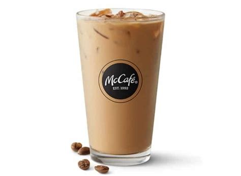Single door fridge with ice maker mcdonalds iced coffee caramel. McDonald's Iced Coffee Calories and Nutrition - Fast Food Calories
