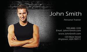 Personal Business Card Designs Fitness Sport Business Cards Templates