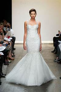 ines di santo lace crystal embellished wedding dresses With ines di santo wedding dress