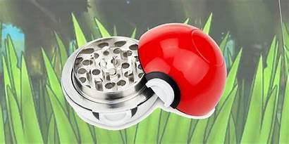 Types Grinder Pokeball Grass Grinding Pokeball Perfect