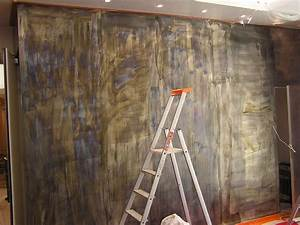 Peinture A Effet Metal : peinture metal effet rouille peinture abstrait tableau ~ Dailycaller-alerts.com Idées de Décoration