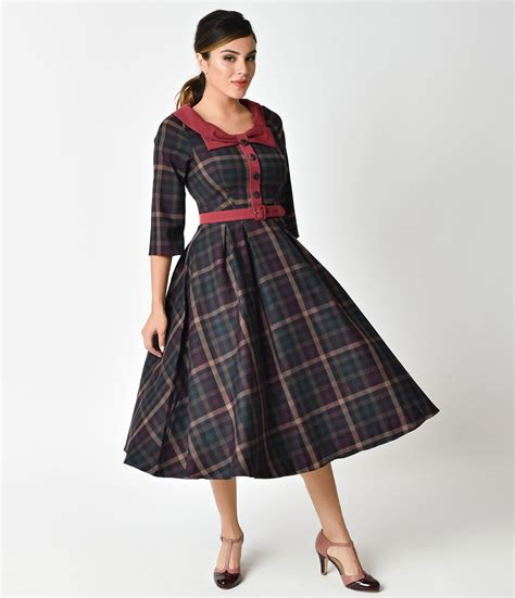 swing style 1940s style dresses fashion clothing