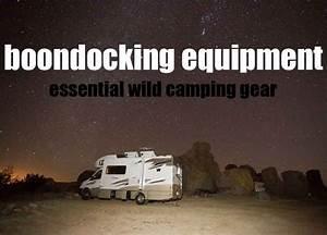 Boondocking Equipment  U2013 Essential Rv Dry Camping Gear