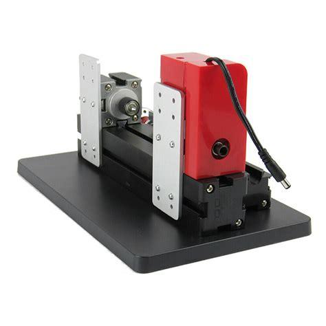 diy mini wood metal motorized lathe machine woodworking