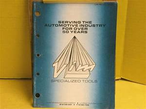 1984 Vim Specialized Tools Catalog    Manual 21 Page Guide
