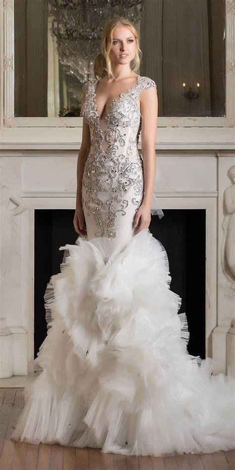 Celebrate Love With The Pnina Tornai 2017 'dimensions. Preloved Tea Length Wedding Dresses. Vintage Wedding Dress Shops In Toronto. Winter Wedding Dresses With Coats. Beautiful Wedding Dresses Ireland