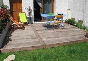 idee decoration terrasse bois With idee de terrasse en bois