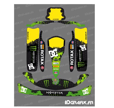 kit deco 100 custom for karting rotax 125 idgrafix
