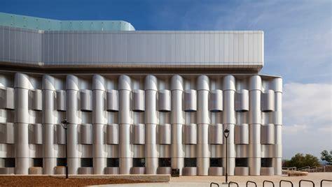 guide   curved  perforated aluminium cladding panels proteus facades