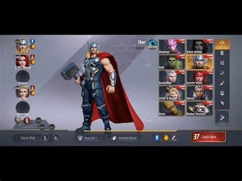 marvel super war gameplay  moba game  marvel