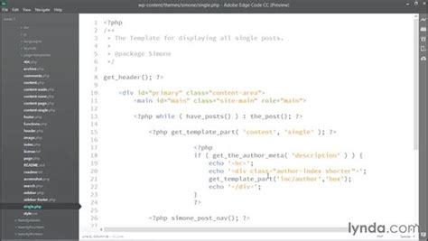 get template part calling template files using get template part