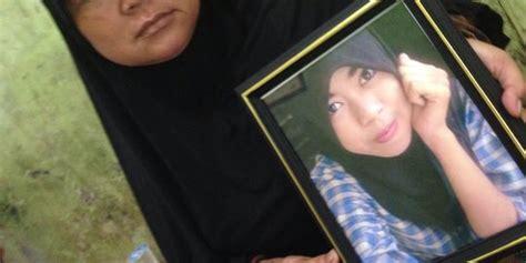 enno korban pembunuhan sadis  cangkul anak  guru merdekacom