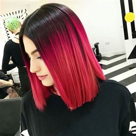 18 Striking Red Ombre Hair Ideas Popular Haircuts