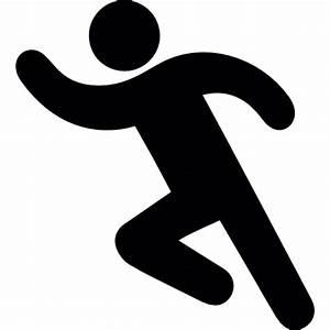 Man Running Silhouette Clip Art   www.imgkid.com - The ...